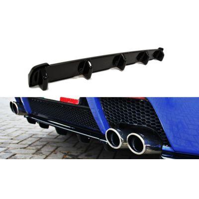 Lame centrale de Pare-Chocs arrière en ABS avec barre verticale Alfa Romeo 147 GTA