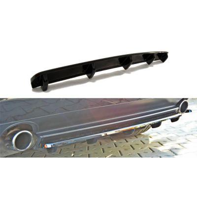 Lame centrale de Pare-Chocs arrière en ABS avec barre verticale Alfa Romeo 159