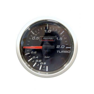 Manomètre Prosport Pression Turbo Diamètre 52mm -1 à +2 Bars