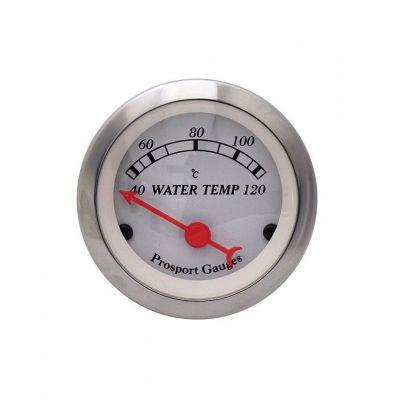 Manomètre Classic Température d'Eau Prosport 52mm 120°C