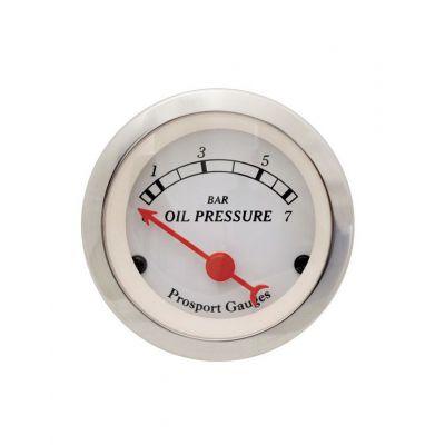 Manomètre Pression d'Huile Prosport Classic 52mm 0-100PSI avec sonde
